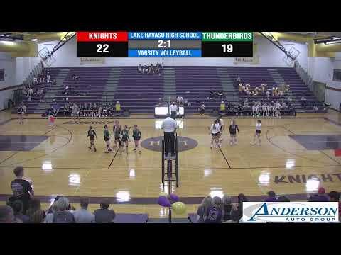 JV-A & JV-B Volleyball @ Lake Havasu High School