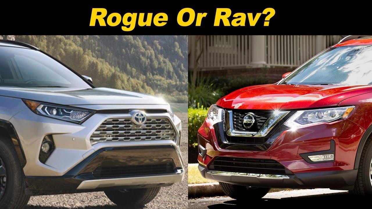 Nissan Rogue Vs Toyota Rav4 >> 2019 Nissan Rogue Vs Toyota Rav4 Which Should You Pick