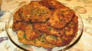 Italian Chicken Cutlets - How To