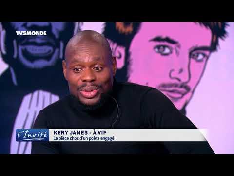 """Kery JAMES """" Je suis à vif"""""""