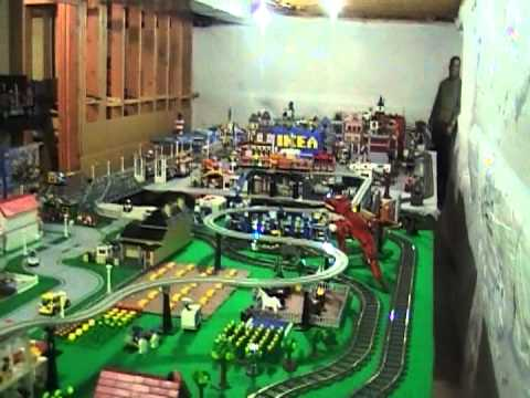 Alternative Lego Track For 9v And Rc Trains Youtube