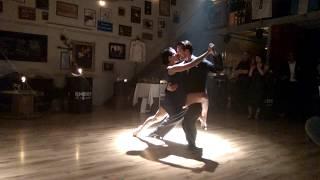 Tango Argentino: Danae Zevgadina y Raphael Passaquay, Athens. Part 1