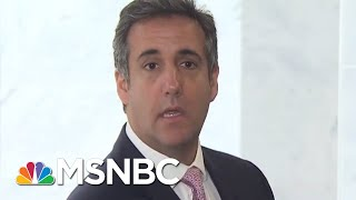 Why Did Michael Cohen Split With His Legal Team? | MTP Daily | MSNBC
