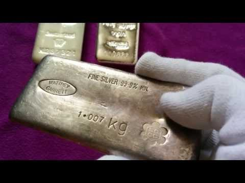 New / Vintage Silver Kilo Bars! (Metalor, Pamp, Matthey Garrett, Harrington, Credit Suisse)