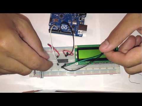 PCF8574 Ein LCD Display mit nur zwei