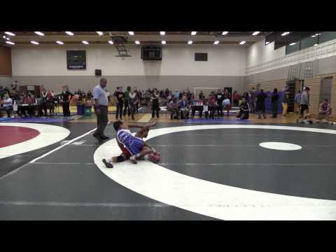 2014 Huskie Open: 54 kg Richard Cux vs. Patrick Leynes