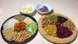 Cách Làm Nhân Bánh Trung Thu Chay  - Vegan Fruit and Nut Mooncake Fillings