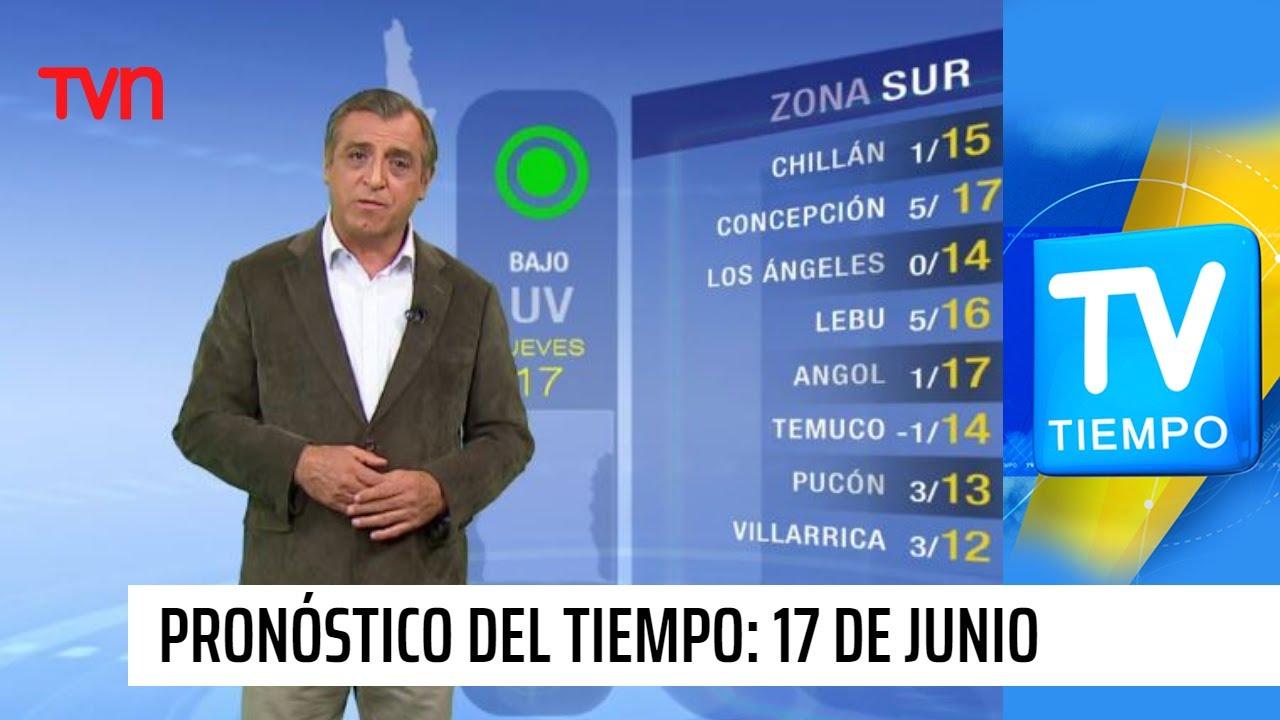 Pronóstico del tiempo: Jueves 17 de junio | TV Tiempo