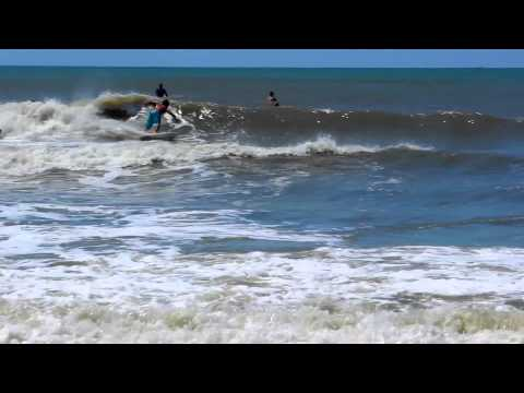 Mid June Swell 6/13/13 Atlantic Beach, NC