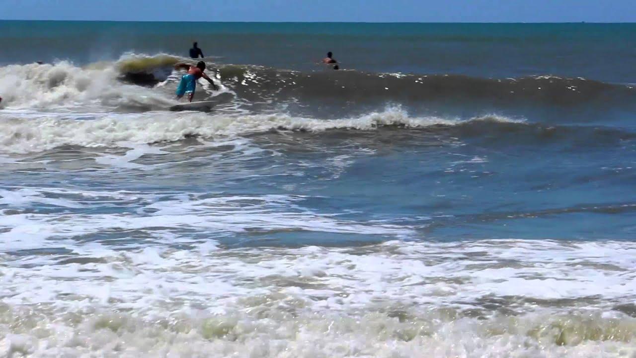 mid june swell 6 13 13 atlantic beach nc youtube