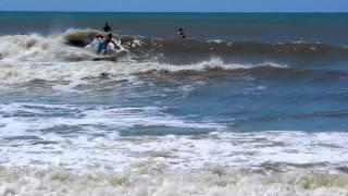Mid June Swell 6/13/13 Atlantic Beach, NC