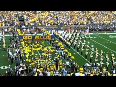 First Experience at Michigan Stadium: UM vs UCONN