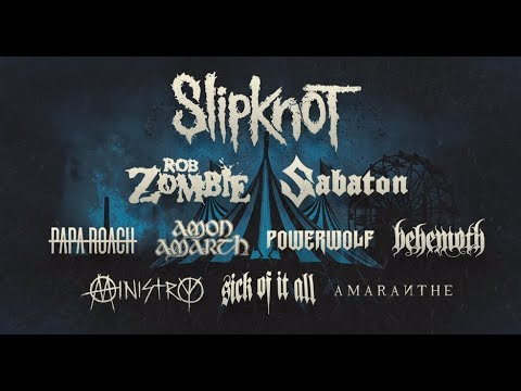 """Slipknot announce """"Knotfest Meets Hellfest"""" in France w/Behemoth/Amon Amarht and more..!"""