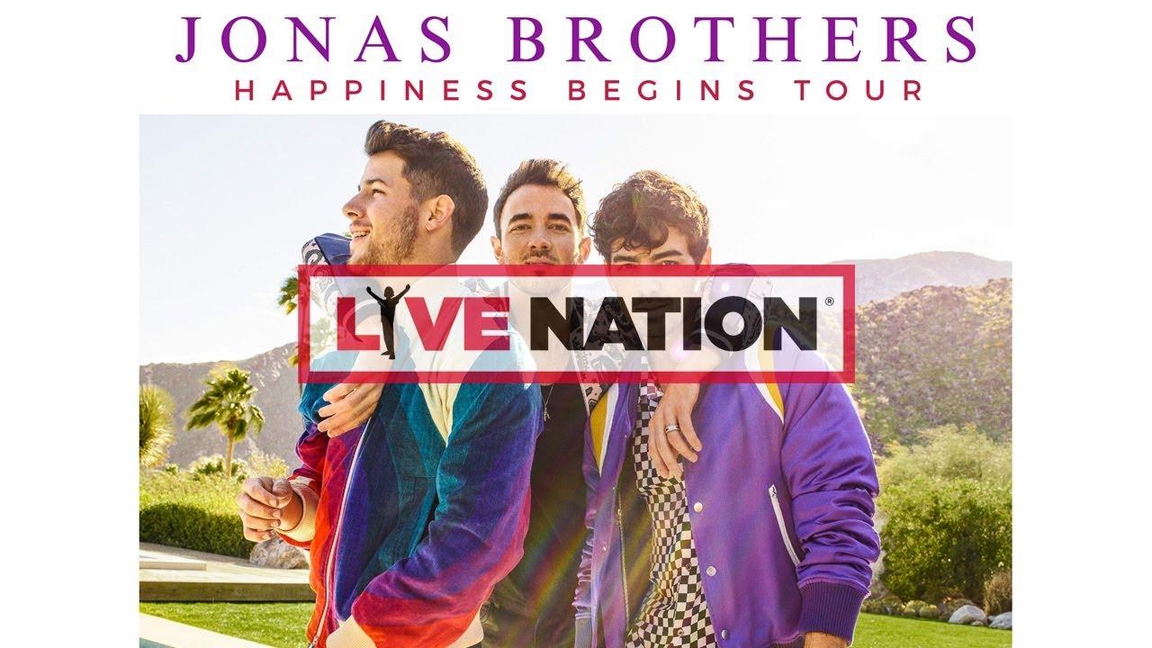 jonas brothers tour 2020