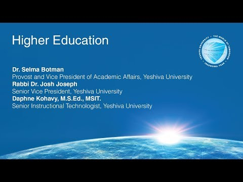 YU and the World of Tomorrow: Higher Education Next