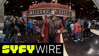 VR180 | 180° Cosplay Dance-Off | C2E2 2018 | SYFY WIRE thumbnail