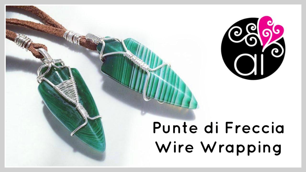 Wire Wrapping Tutorial | Punte di Freccia | Regali da uomo - YouTube