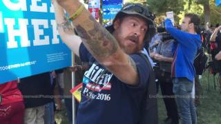 """""""HILLARY CLINTON Touched Me"""" – TRUMP Supporter at Final Presidential Debate 