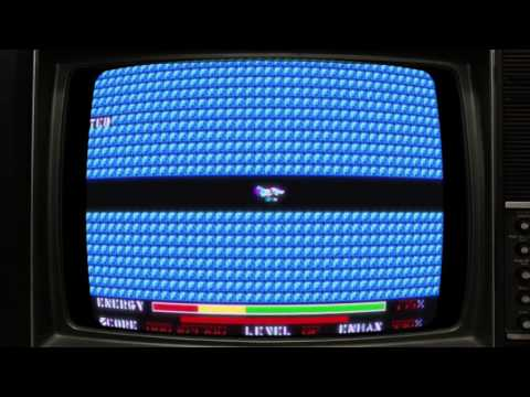 Let's play Thexder Tandy 1000 DOS CRT at 60 FPS