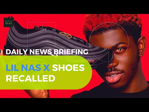 'Satan shoes' launched by Lil Nas X to be recalled after Nike lawsuit