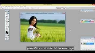 How to create 4x6 size photos in photoshop very easy