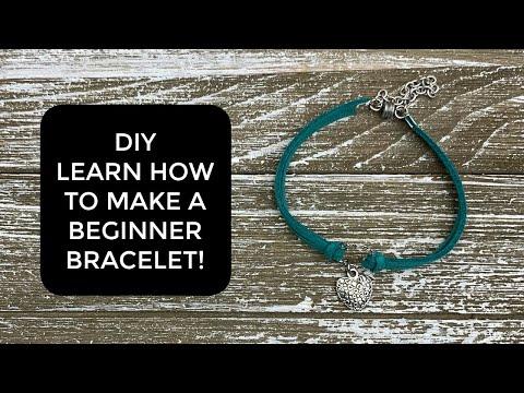 Learn how to make a super easy beginner bracelet!