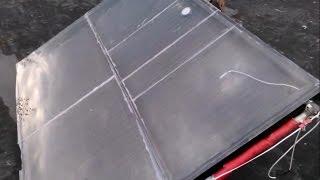kolektor słoneczne własnej roboty, grzejnik panelowy SUNNY SOLAR