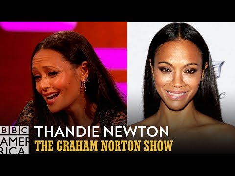 Thandie Newton Got Mistaken For Zoe Saldana From A Former Spice Girl  The Graham Norton