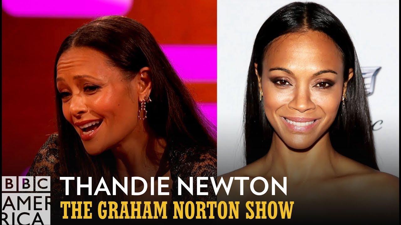 Thandie Newton Got Mistaken For Zoe Saldana From A Former Spice Girl - The Graham Norton Show