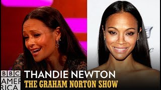 Thandie Newton Got Mistaken For Zoe Saldana From A Former Spice Girl - The Graham Norton Show