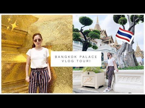 BANGKOK VLOG: GRAND PALACE, WAT PHO & WAT ARUN TOUR!♥️ (ang ganda pero sobrang daming tao😱)