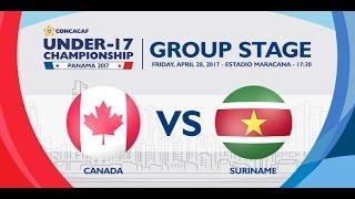 CU17PAN: Canada vs Suriname thumbnail