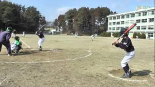 2011.2.26 北仙台ジャガーズとの練習試合第2試合ダイジェスト 1−3で...