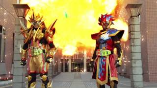 Gambar cover Kamen Rider Ex-Aid:  Double Rider Kick Finish