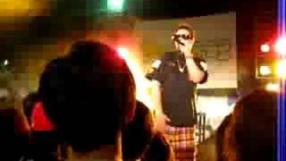 Teriyaki Boyz member Wise performs some TB songs. Sorry for the poo...