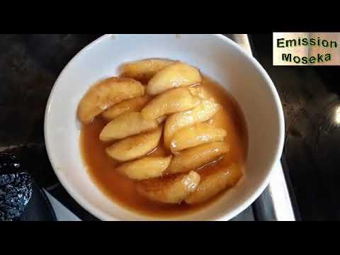 pommes-caramelisées