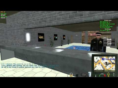 Bank Robbery & Clean Getaway