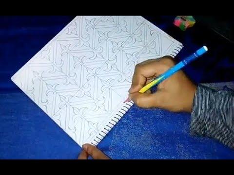 How To Make Bangladeshi New Nokshi Khata Design  | ???? ???? ????? ?????? HD 2018