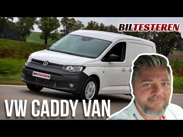 Her er den nye VW Caddy Van (præsentation)