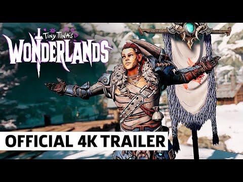 Tiny Tina's Wonderlands Stabbomancer and Brr Zerker Class Trailer
