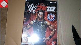 WWE 2K18 PC Unboxing (Digital Code)