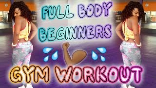 FULL BODY BEGINNERS GYM WORKOUT | Scola Dondo
