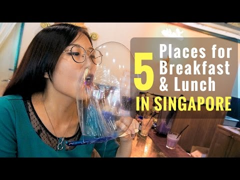 5 Places To Eat & What To Eat (For Breakfast & Lunch) in Singapore │Travel Singapore Guide
