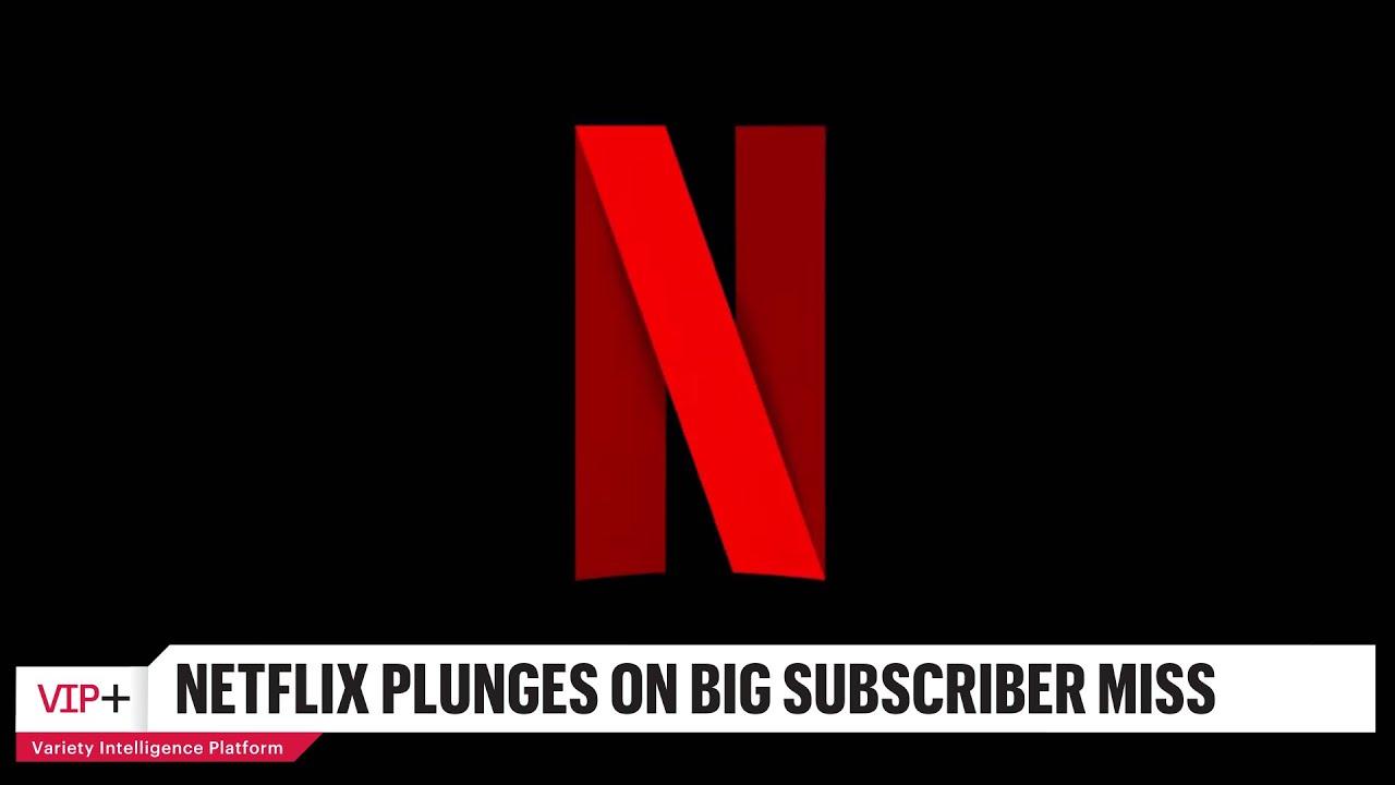 Netflix Stock Plummets on Sharp Decline in Subscriber Growth in Q1