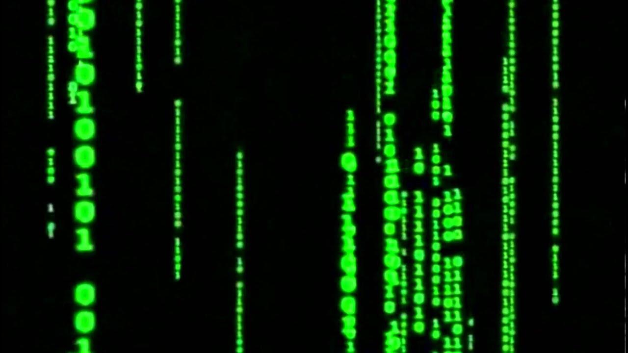 Matrix Falling Code Wallpaper Matrix Code Full Hd No Sound 1080p Youtube
