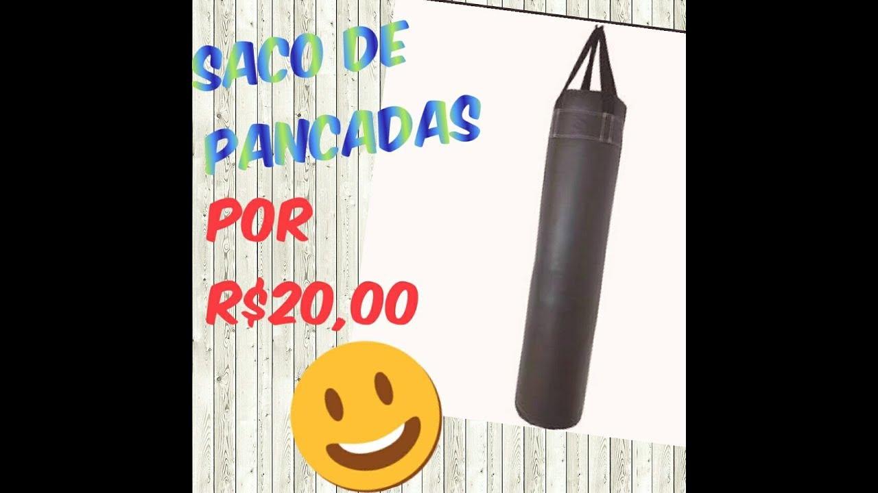 071232e2e DIY Saco de Pancada por menos de R 20