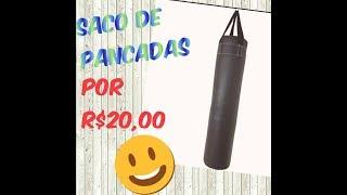 DIY Saco de Pancada por menos de R$20,00- Por Evelyn Carmelim.