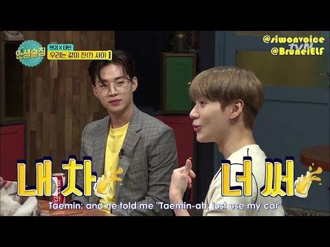 [ENGSUB] 171027 tvN Life Bar EP42 cut - Henry lend his car to Taemin