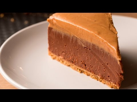 Thumbnail: No-Bake Chocolate Peanut Butter Cheesecake