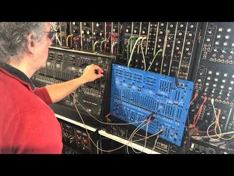 sound test arp 2600 / berhinger 2600